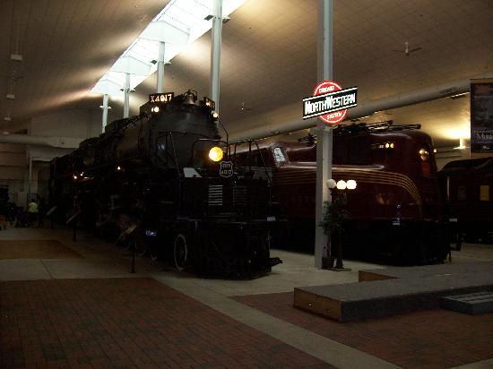 National Railroad Museum: Just Two of Many Engines on Display