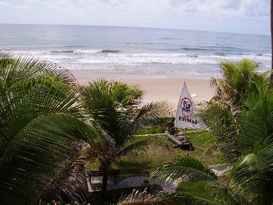 Pousada Ecoporto: View from balcony