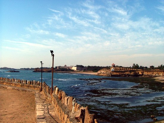 Diu, India: sunset point