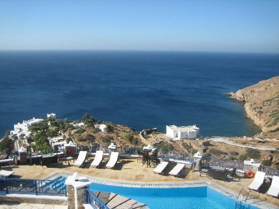 Hermes Hotel: Pool area