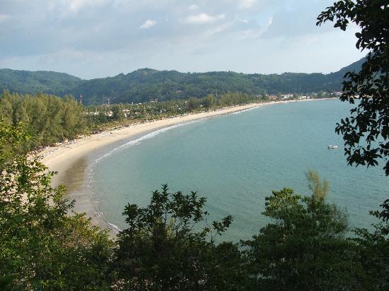 หาดกมลา: Kamala beach dall'alto