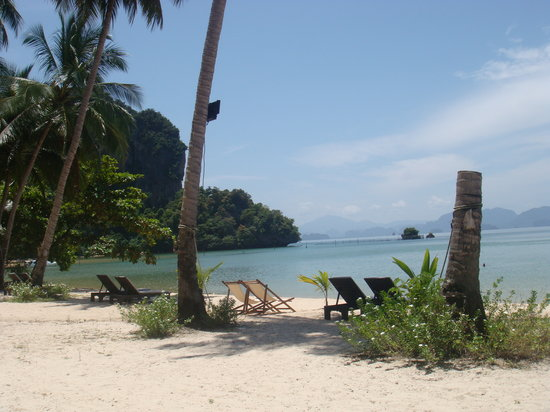 Ko Yao Noi, Tailândia: The beach