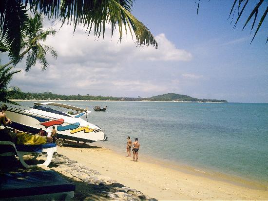 Paradise Beach Resort : La plage de Maneam