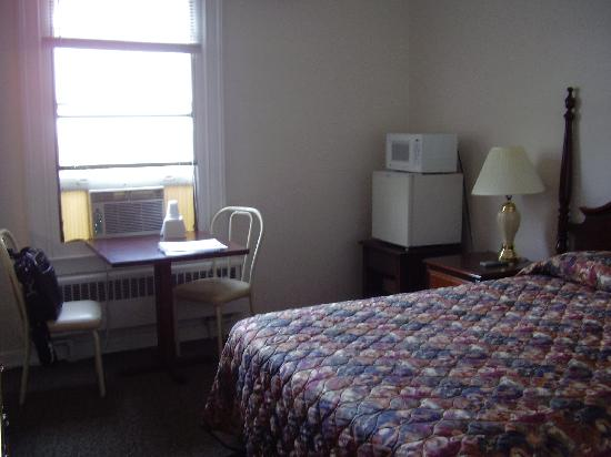 Lenox Hotel and Suites: room and view
