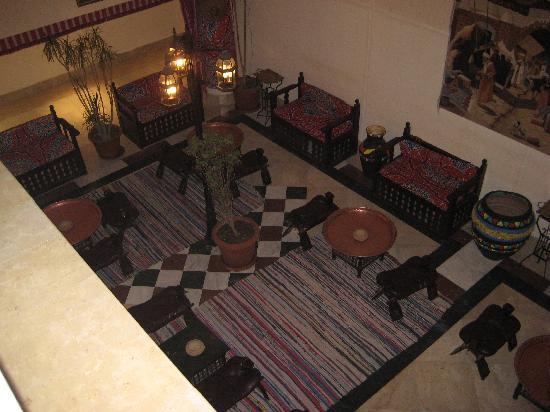 Sindbad Aqua Hotel & Spa : salon marrocain