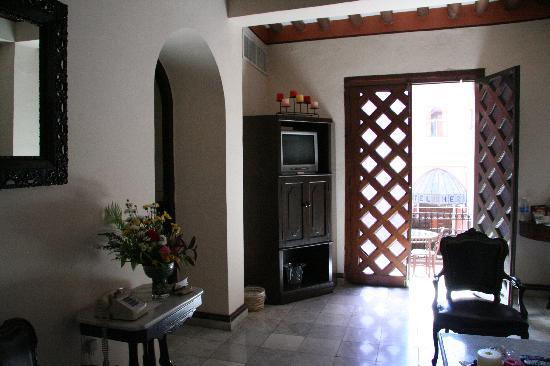 Hotel Casa del Balam: Master Suite 110 Entrada