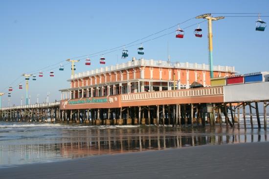 Daytona Beach Boardwalk And Pier The