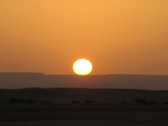 Maroko: Sunrise in the Sahara-a real WOW factor