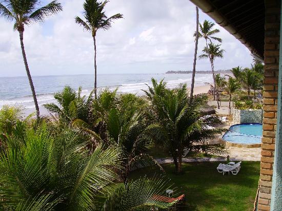 Pousada Ecoporto: Sea view from balcony