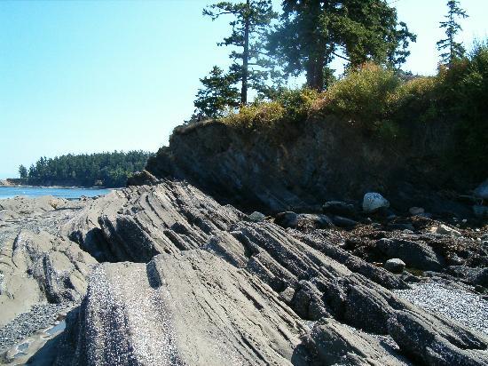 Bartwood Lodge : Sandstone on Beach