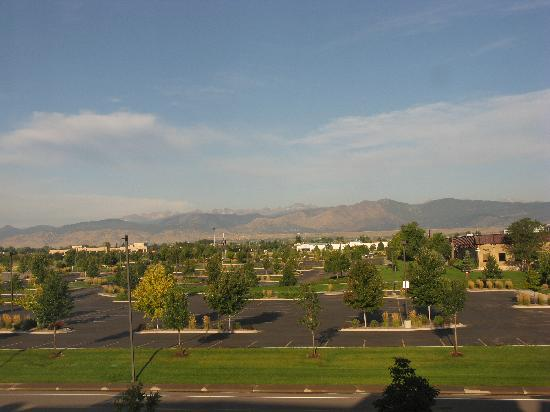 SpringHill Suites Boulder Longmont: View from the hotel window.