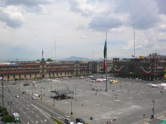 Zócalo Central: View from the terrace