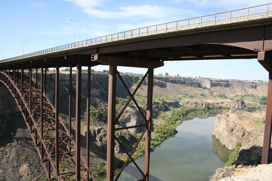‪‪Twin Falls‬, ‪Idaho‬: Perrine Bridge‬