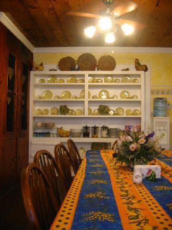 Ashley's Island House: we ate breakfast here