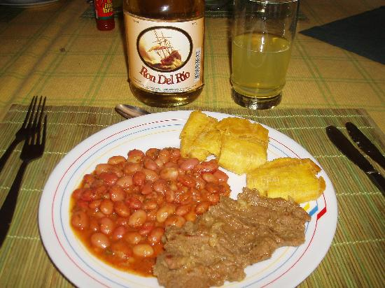 Cuyabeno Lodge: Simple meal