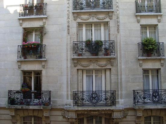 BEST WESTERN PREMIER Trocadero La Tour : quiet location