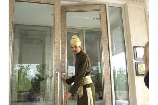 The Uppal Hotel - an Ecotel Hotel: Friendly doorman