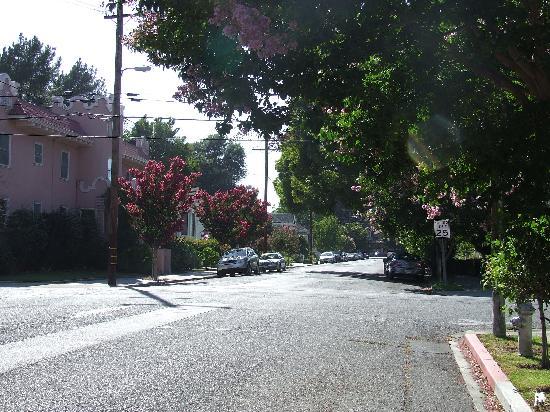 La Belle Epoque: View down the street