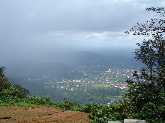 Ghana: Top of NkawKaw Mountain