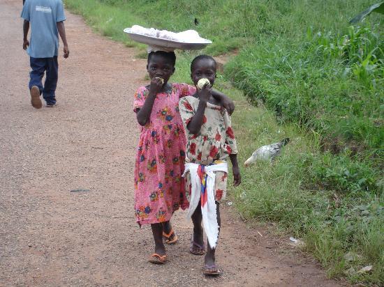 Gana: Friendly Locals!