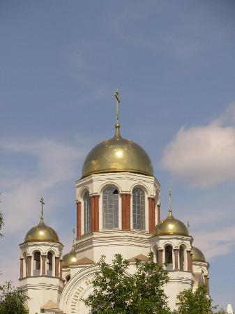 Гостиница Октябрьская: Church in City centre
