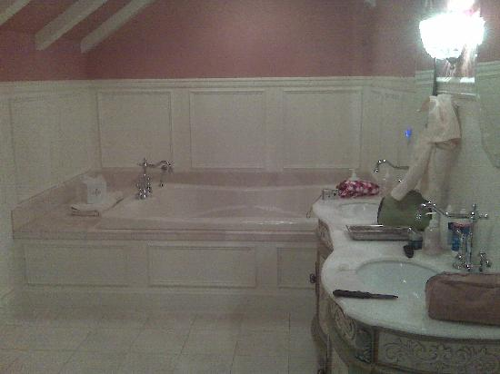 Cameo Heights Mansion Bed & Breakfast : Wondeful tub