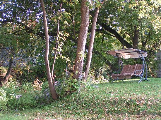 Motel Homeric: Jardin