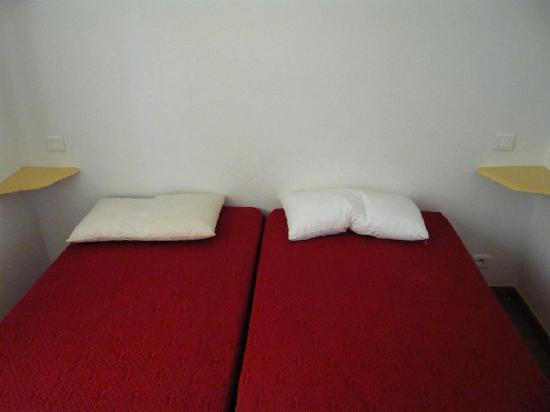 Les Jardins de Fontanille : Le lit double