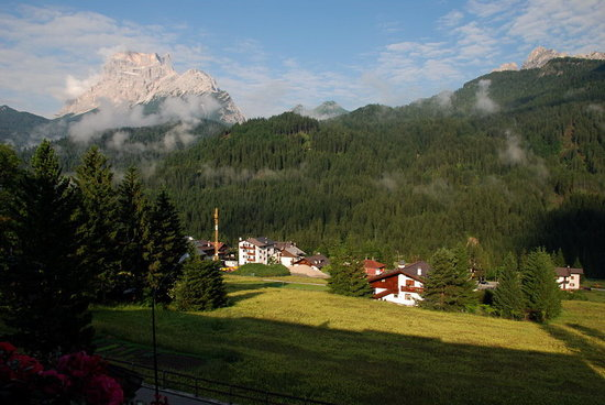 San Vito di Cadore, Italia: The view from our room