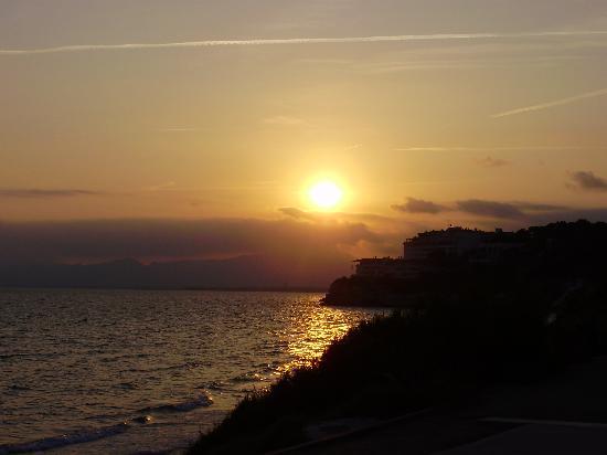 Hotel Best Negresco : sunset's to die for