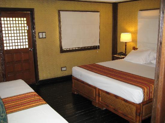 El Nido Resorts Miniloc Island: Miniloc garden cottage, also had a twin bed