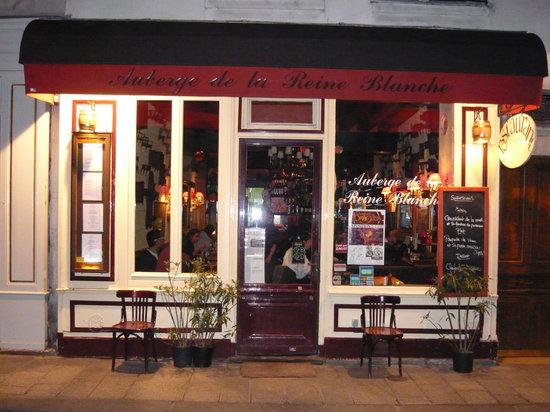 Auberge de la Reine Blanche: The restaurant