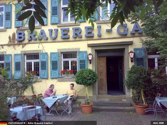 Flair Hotel Adler Brauereigasthof: The Outside
