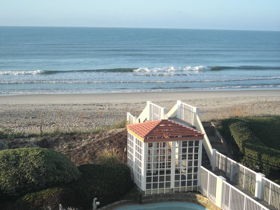 Pine Knoll Shores, Kuzey Carolina: view from balcony