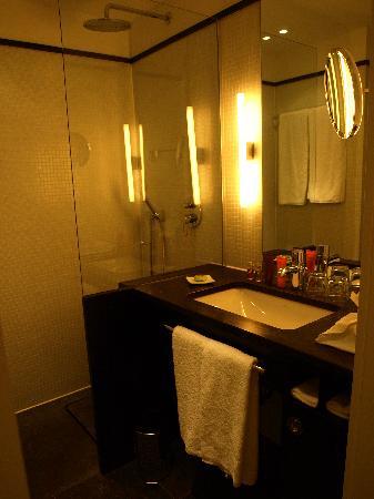 Gerbermühle Hotel: Salle de bain