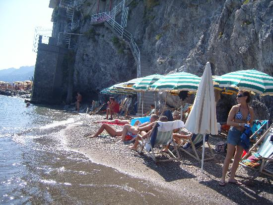 """Hotel La Lucertola: """"la spiaggia privata"""""""