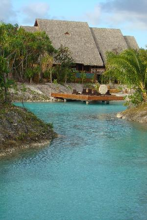 Four Seasons Resort Bora Bora: The Spa at the 4 Season's bora