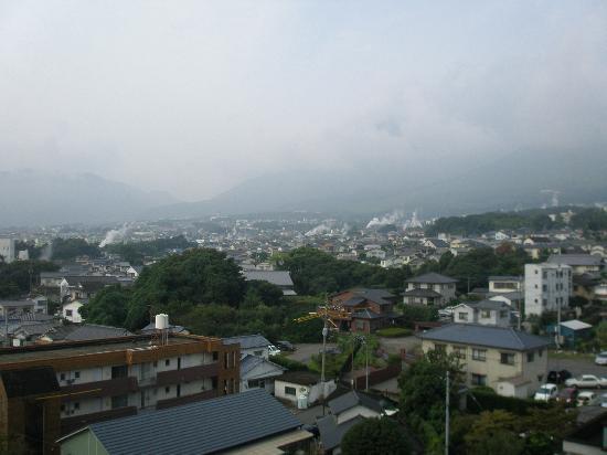 Hotel Sansuikan : 雨でしたが、湯煙が見えよかった。