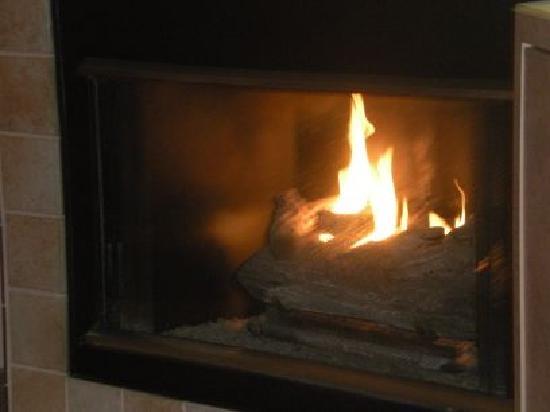 هولمارك ريزورت - نيوبورت: fireplace