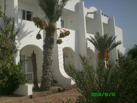 Midoun, Tunisien: Villaggio camere