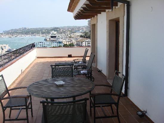 La Posada del Mar: view from balcony