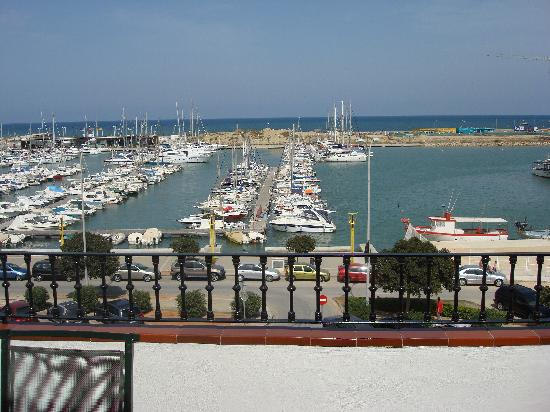 La Posada del Mar : view from room of harbour