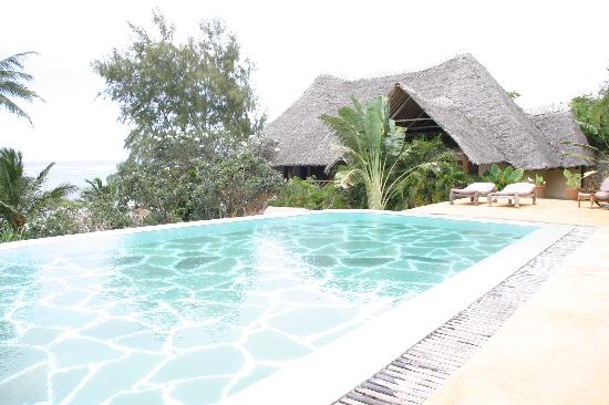 Alfajiri Villas: Giraffe pool & our villa