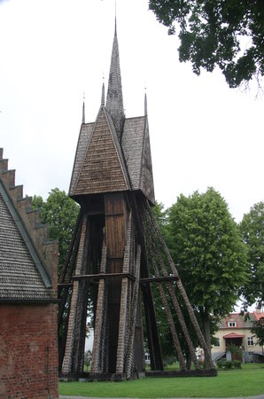 Schweden: L'ancienne Eglise de Söderköping