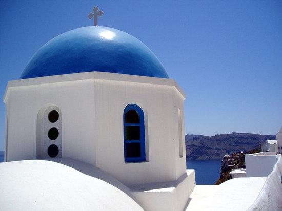 Oia, Grèce : Santorin