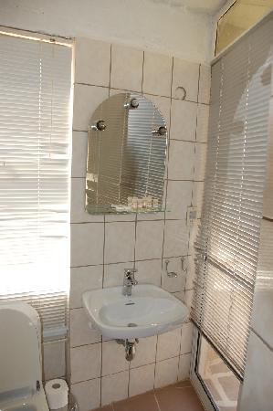 Apollonia Hotel Apartments: Toilet in room