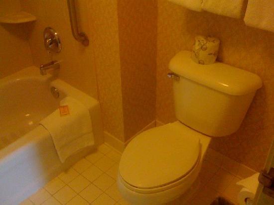 Residence Inn Salt Lake City Airport : Bathroom