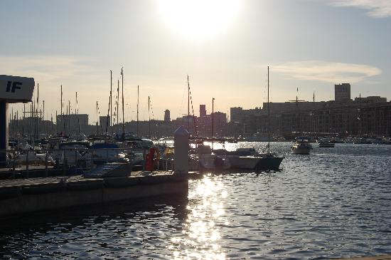 View from hotel lobby picture of hotel alize marseille vieux port marseille tripadvisor - Hotel alize marseille vieux port ...