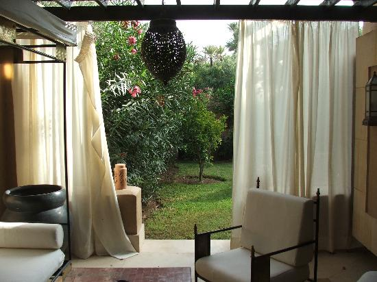 Club Med Marrakech le Riad : la terrasse privative