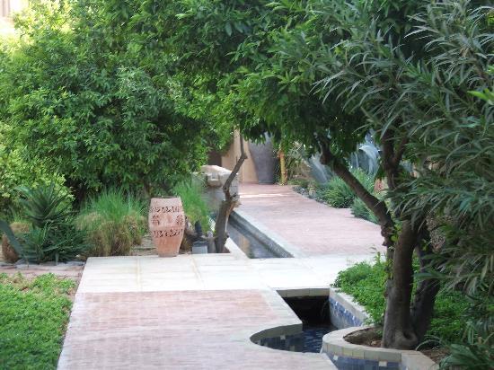 Club Med Marrakech le Riad : vers les chambres